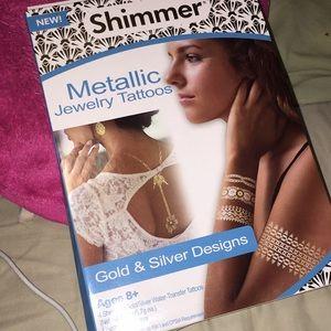 Other - Metallic Jewelry Tattoos